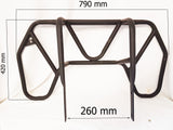 RER08 REAR RACK CARRIER FOR 200CC 250CC QUAD BIKE ATV BLACK