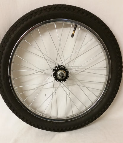 "RIM73 49CC GT-ONE DRIFT TRIKE 20"" FRONT WHEEL & TYRE 20 X 2.35 - Orange Imports - 1"