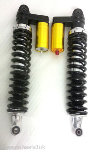 SH012 SET OF 2 X SHOCK SHOCKER ABSORBER SPRING FOR QUAD / BUGGY / KIT CAR - Orange Imports - 1