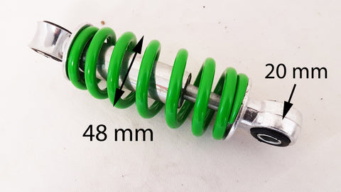 SH054 GREEN REAR SHOCK ABSORBER 145MM FOR ORION 49CC MINI QUAD BIKE AGA-20
