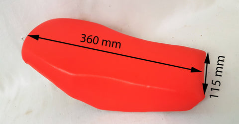 SMQ04 RED SEAT FOR  49CC ORION APOLLO MINI QUAD BIKE SEAT AGA-20 KING KONG - Orange Imports - 1