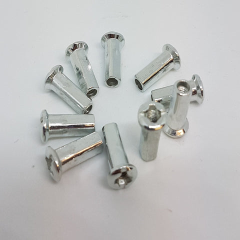 SP011 SET OF 10 X REPLACEMENT SPOKE ENDS NUTS FOR DIRT PIT BIKES