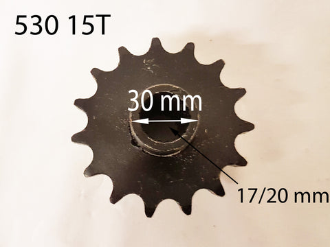 SPF33 FRONT SPROCKET FOR GY6 150CC 200CC I-GO QUAD BIKE 530-15T - Orange Imports - 1