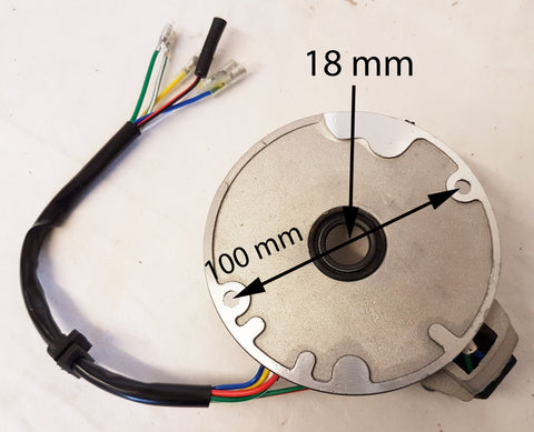 STW08 STATOR PLATE MAGNETO FOR DIRT / PIT BIKE 50CC - 125CC C90 ENGINES