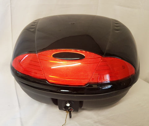 LOCKABLE TOP BOX CARRIER /BACK REST FOR BASHAN BS250S-11B BS200S-7 QUAD BIKES - Orange Imports - 1