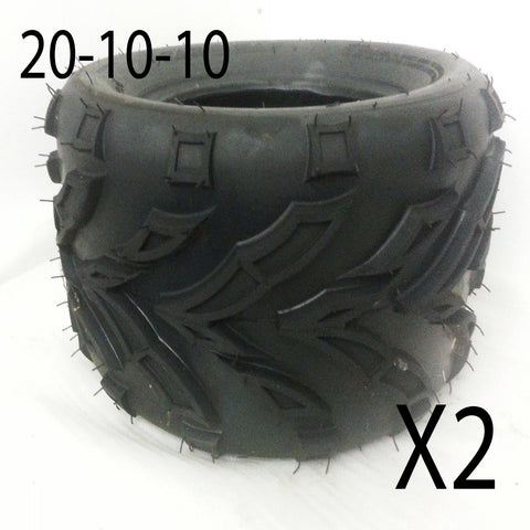 FULL SET OF TYRES FOR BASHAN BS200S-7 200CC QUAD BIKE 21-7/10 /20-10/10