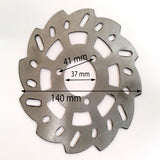 BD016 FRONT OR REAR BRAKE DISC FOR MINI MOTO / DIRT BIKE 49CC - Orange Imports - 1