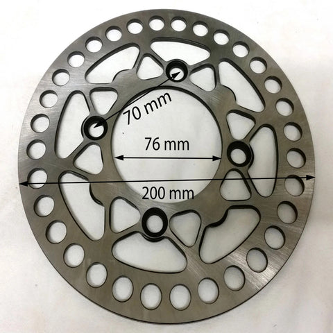 BD024 FRONT BRAKE DISC 200MM X 3MM FOR 125CC ORION DIRT BIKE - Orange Imports