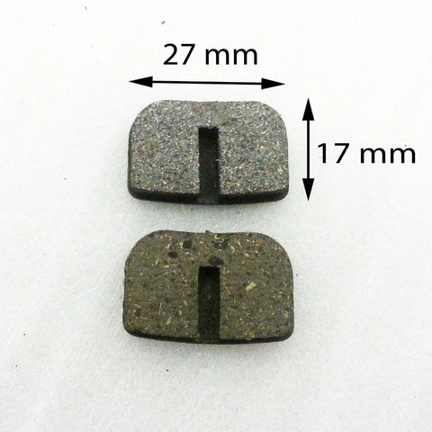 BP009 SET OF BRAKE PADS FOR PIT / MINI DIRT BIKE/ MINI QUAD / MINI MOTO - Orange Imports - 1