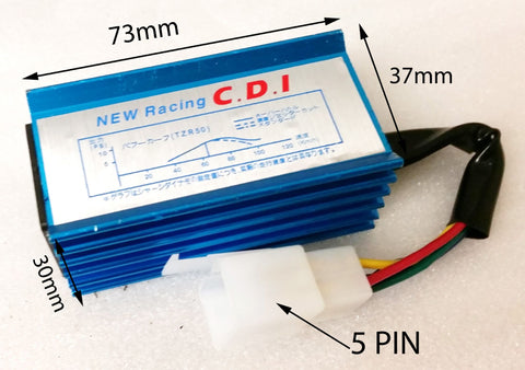 CDI08 UNRESTRICTED 5 PIN RACE CDI UNIT FOR DIRT / PIT QUAD BIKES 50CC - 110CC - Orange Imports - 1