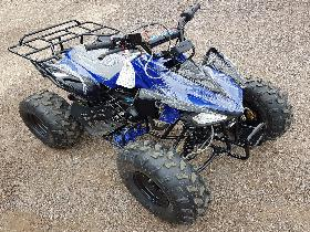 "BLUE CHEETAH 110CC QUAD BIKE BY TAO TAO 4 STROKE AUTOMATIC WITH REVERSE 8"" TYRES"