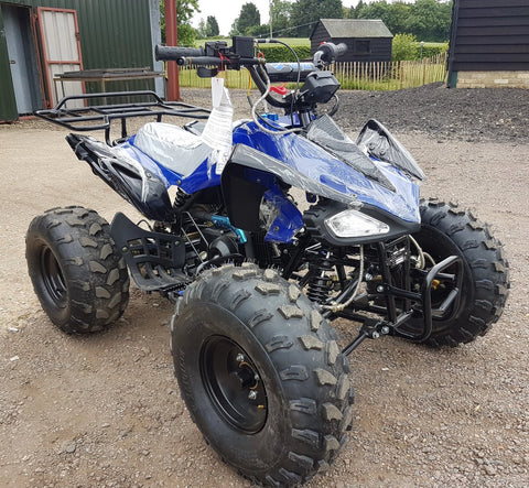 BLUE CHEETAH 110CC QUAD BIKE BY TAO TAO 4 STROKE AUTOMATIC WITH REVERSE 8