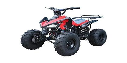"SPEEDY SEMI AUTOMATIC WITH REVERSE 110CC KIDS QUAD BIKE BY TAO TAO, 4 STROKE, SINGLE CYLINDER  7"" TYRES"