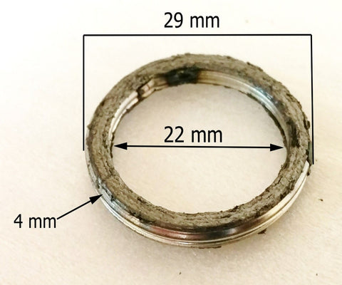 EX045 EXHAUST CRUSH RING SEAL FOR QUAD / ATV / DIRT / PIT BIKE 29MM