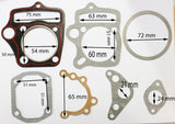 GAS26 GASKET SET FOR LIFIAN JALING 125CC DIRT / PIT BIKE - Orange Imports - 1