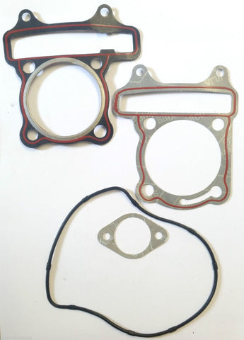 GAS63 HEAD & BASE GASKET MANIFOLD SET FOR GY6 150CC CHINESE ENGINE - Orange Imports - 1