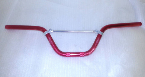 HBD14 HANDLEBARS CNC RED 22MM FOR PIT / DIRT BIKE 50CC - 140CC - Orange Imports