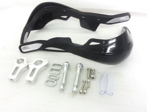 HG33 REINFORCED HAND GUARDS BLACK FOR MOTO X ENDURO MX CRF - Orange Imports