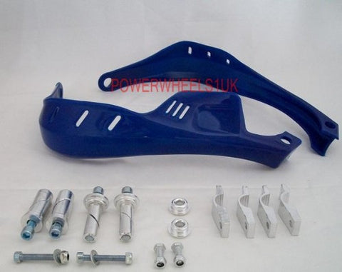 HG41 ORIGINAL HAND GUARDS FOR DIRT / PIT / MOTOX ENDURO BLUE - Orange Imports