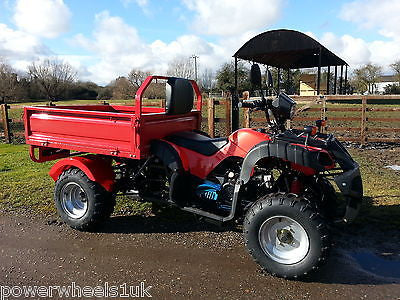 I Go Atv Farm Utility Quad Vehicle 200cc Tipper Truck