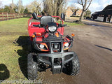 I-GO ATV FARM UTILITY QUAD VEHICLE 200CC TIPPER TRUCK TRACTOR EQUESTRIAN - Orange Imports - 4