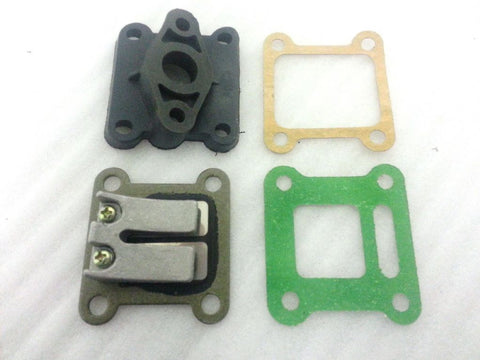 IMR01 SET OF INLET MANIFOLD REEDS AND GASKETS FOR 47 - 49CC MINI MOTO / MINI DIRT / MINI QUAD BIKE - Orange Imports