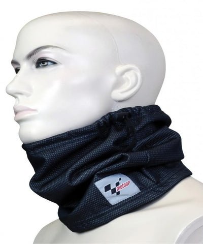 MOTOGP WINDPROOF NECK TUBE WITH MOTOGP DESIGN MOTORCYCLE CLOTHING - Orange Imports