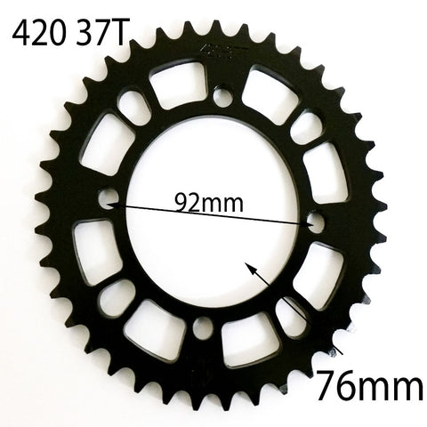 SPR30 REAR SPROCKET 420 37 TOOTH 37T SDG FOR 125CC / 150CC PIT & DIRT BIKES - Orange Imports - 1