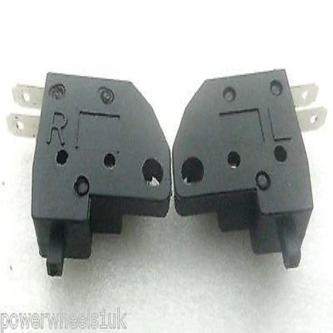 SWB06 LEFT & RIGHT BRAKE LIGHT SWITCH SET FOR QUAD / DIRT / PIT & MOTORBIKES GY6 - Orange Imports - 1