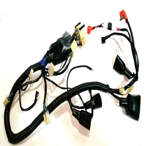 electrical ignition tagged wiring looms orange imports wir14 complete wiring loom for shineray xy250stxe quad bike orange imports 1