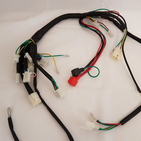 WIR34 COMPLETE WIRING LOOM HARNESS FOR UPBEAT 125CC QUAD BIKE
