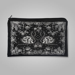 Swans Irish Lace Purse / Case
