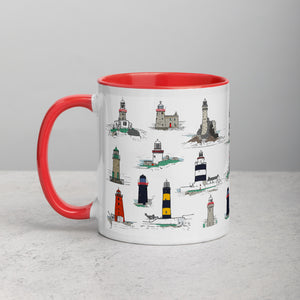 Irish Lighthouses Mug