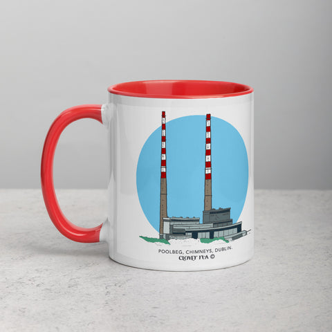 Poolbeg Chimneys Mug