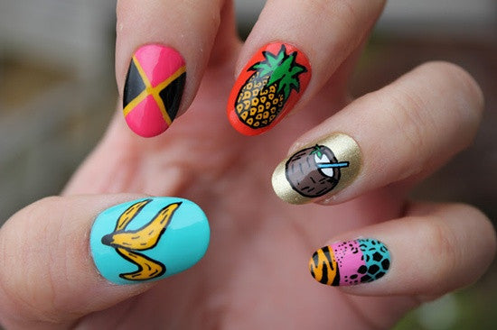 5 Fruitful Nail Art Designs For Summer