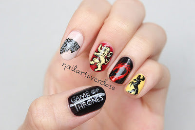 These 'Game of Thrones' Nail Art Will Make You Say 'Valar Morghulis'