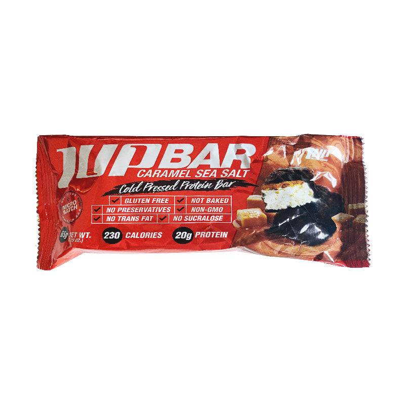 1UP Nutrition 1UP Protein Bar - Caramel Sea Salt - Box of Protein