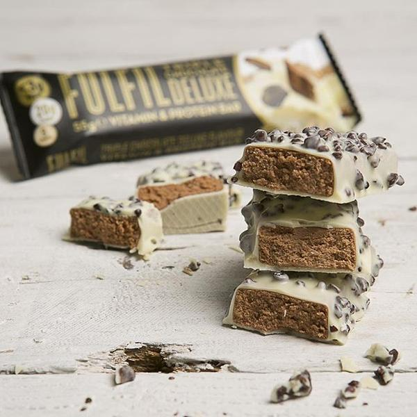 Fulfil Vitamin & Protein Bar - Triple Chocolate Deluxe - Box of Protein