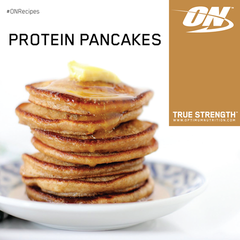 Optimum Nutrition Protein Pancake Mix - Unflavoured (51g) - Box of Protein
