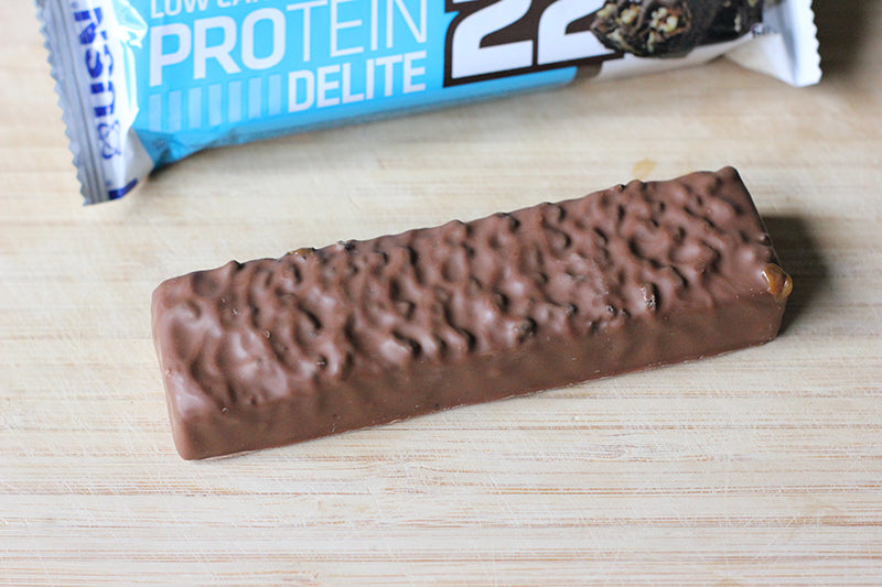 USN Low Carb Protein Delite 22 Bar - Chocolate Brownie - Box of Protein