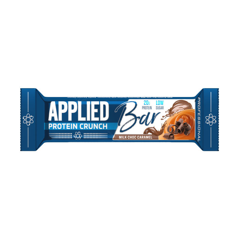 Applied Nutrition Bar Protein Crunch - Milk Chocolate Caramel - Box of Protein