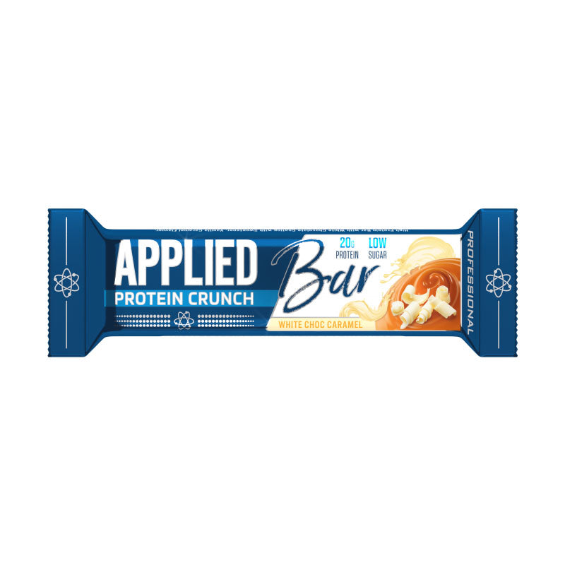 Applied Nutrition Bar Protein Crunch - White Chocolate Caramel - Box of Protein