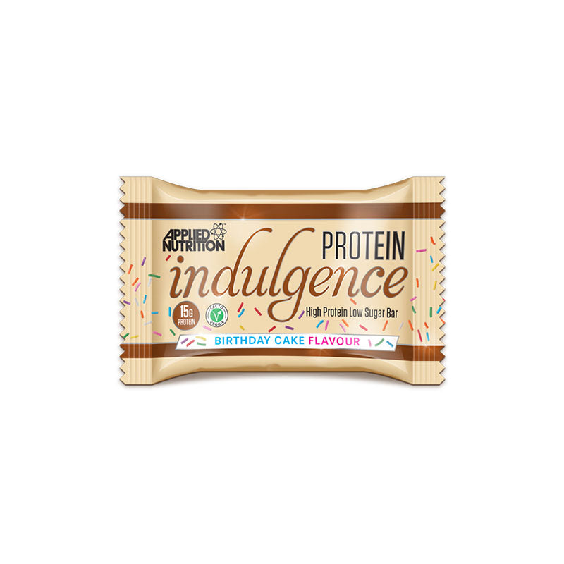 Applied Nutrition Protein Indulgence Bar - Birthday Cake - Box of Protein