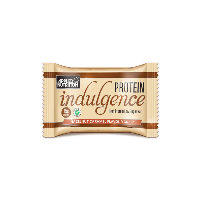 Applied Nutrition Protein Indulgence Bar - Hazelnut Caramel - Box of Protein
