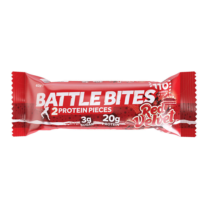 Battle Oats Battle Bites - Red Velvet - Box of Protein