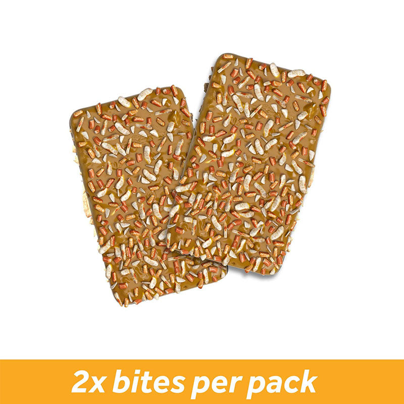 Battle Snacks Battle Bites - Caramel Pretzel - Box of Protein