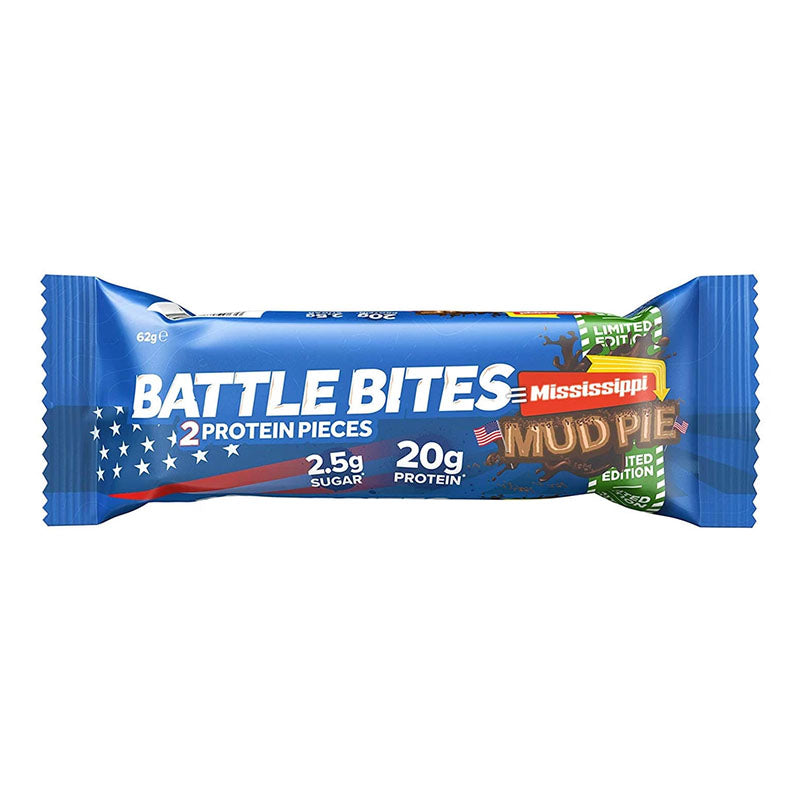 Battle Snacks Battle Bites - Mississippi Mud Pie - Box of Protein