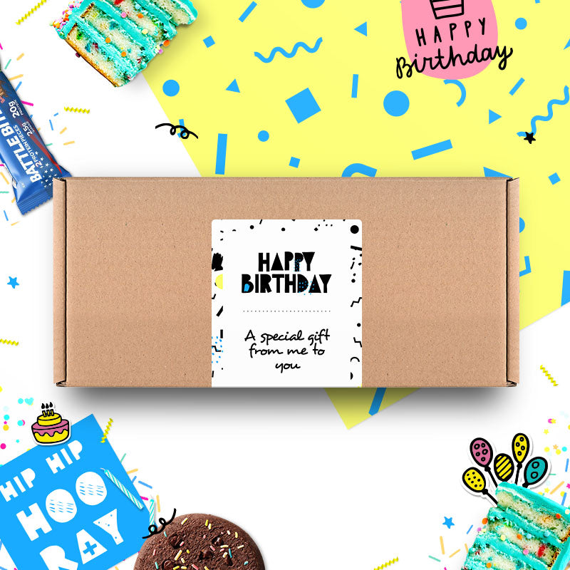 Box of Protein Birthday Gift Box - Large