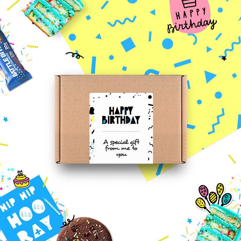 Box of Protein Birthday Gift Box - Small