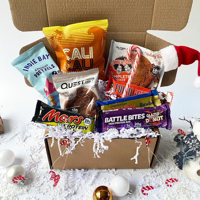 Box of Protein Christmas Selection Box - Medium